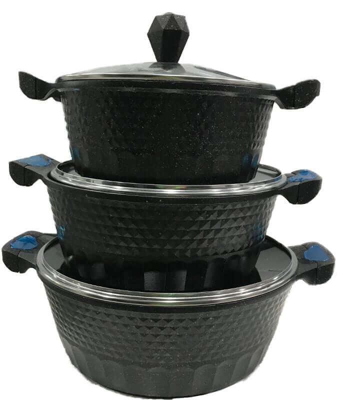 Vaken Original Non Stick Casserole Dish Cook Aluminium Djm